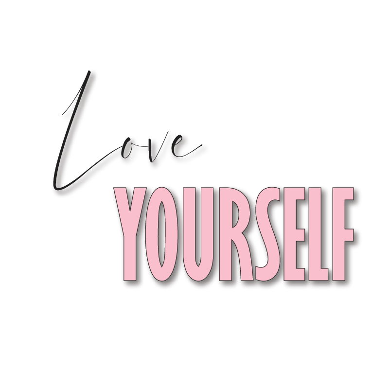 Love Yourself Beautiful Graphic Printable Frame