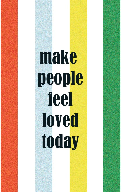 Make People Feel Loved Today Wallpaper Give Love