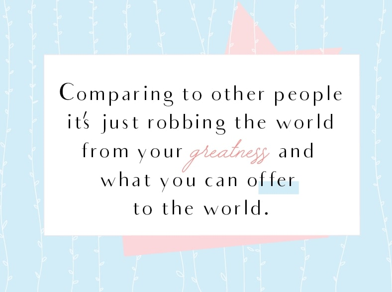 Don't Compare Yourself Comparisons With Other People Quotes